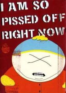 I am so pissed off right now South Park