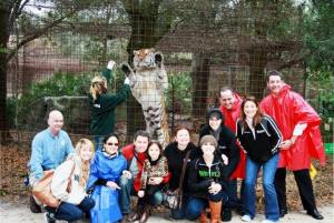 Baskin-What constitutes posing with tigers posing for money