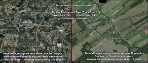 BCR location vs Tiger Truck Stop