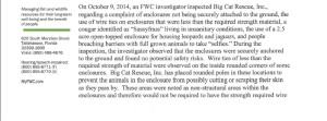 response letter BCR complaint 1b