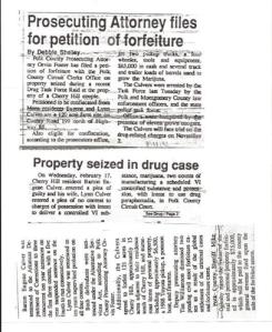 Culver Drug Bust